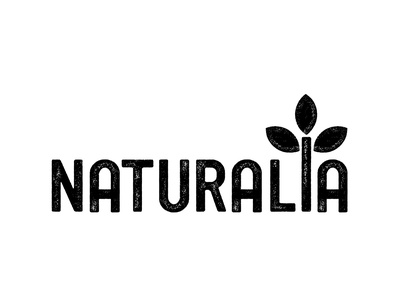 NATURALIA IDENTITY FOR NUTS logo logotype typography art direction simple branding