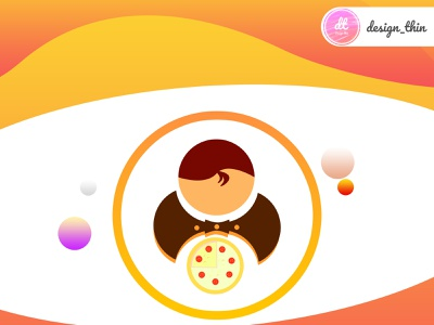 Food App Icon icon branding vector logo illustration