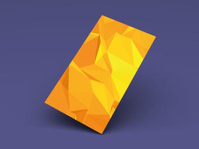 Yellow flat screen