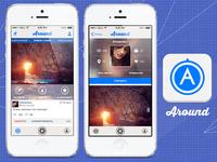 Re-design AroundApp