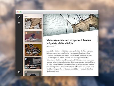 Zen Reader for Mac distraction free reader mac app mac osx yosemite zen reading calm clean