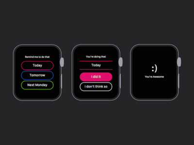 'That' on Apple Watch