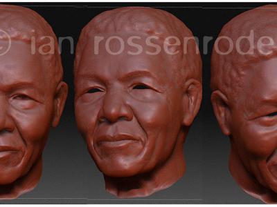 Nelson Mandela 3D model