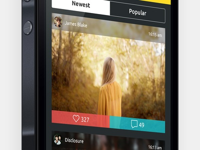 Flash iOS7 feed