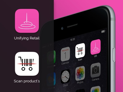 Retail iOS icons needle buy thread scan scanning clean retail ios icons