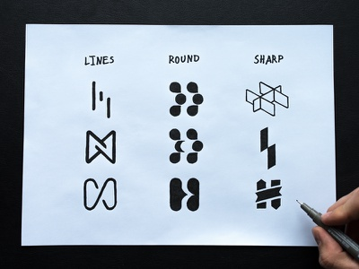 H mark exploration. h drawing sketch mark icon logomark logo design identity design branding brand design