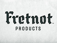 Fretnot Logotype WIP