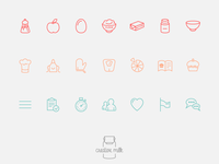 Food App Icons