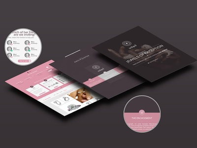 Orchard webdesign store luxe photoshop illustrator jewelry shop