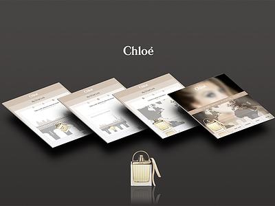 Chloe widget facebook widget fashion luxe