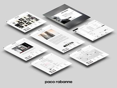 PACO RABANNE webdesign fashion fragrance