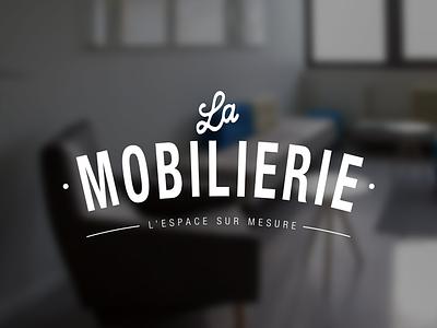 LA MOBILIERIE branding visual identity architect logo design