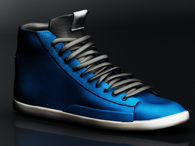 3D Sneakers 3d photoshop game design 3ds max