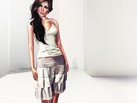 3D Skirt & Top