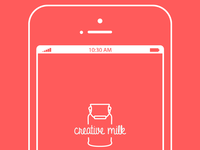 Iphone flat illustration kit by creativemilk.fr