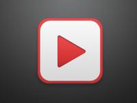 YouTube iOS Icon - Rebound