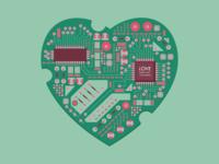 Circuited Valentine