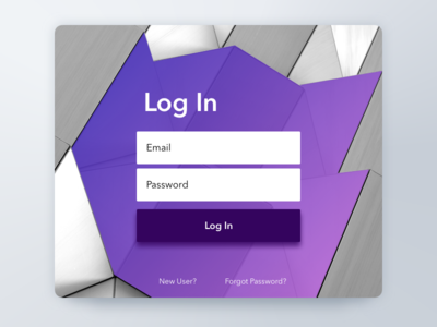 Login Screen login ux 001 ui