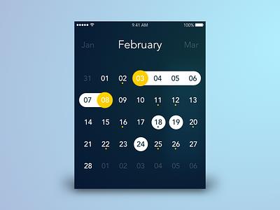 Calendar Concept allday concept calendar ux 004 ui