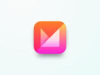Mvelope App icon concept