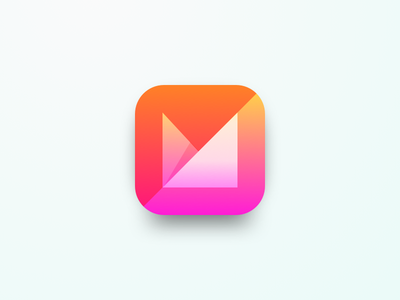 Mvelope App icon concept concept icon ios appicon ux 005 ui