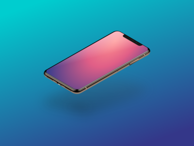 iPhone Xs mockup - in XD mockup illustration free vector xd download xs iphone