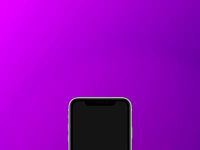 App Loading Animation ios logo minimal animation mobile concept ui xd