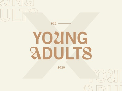 YA adults young trickster neutrals outline identity logo blackletter typography wordmark lock font type