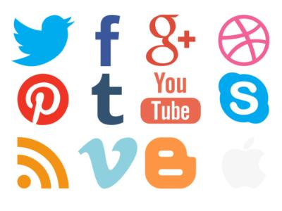 Pixelmator social icons