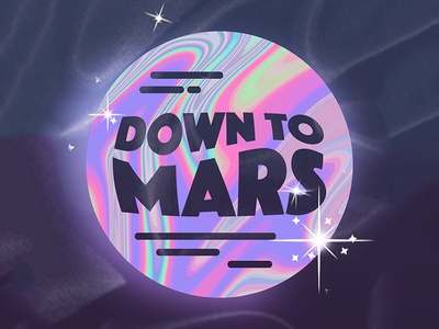 Down To Mars Logo