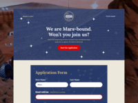 Mission To Mars Application Form