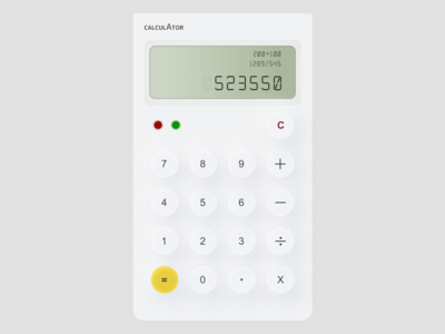 Calculator - Daily UI #004