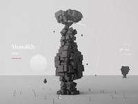 Monolith sculptures