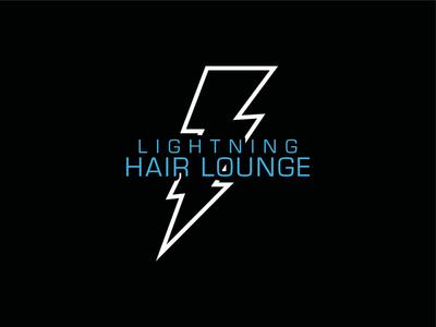 Lightning Hair Lounge Logo
