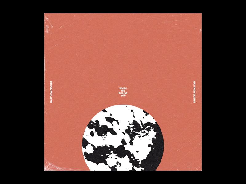 Matthew Zigenis - Artwork album art texture typography album cover