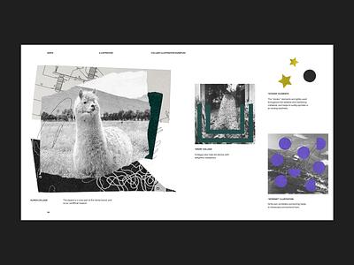 Vanta Brand Guide - Illustration collage textures illustration guide brand guide vanta