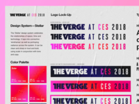 The Verge—Conference Visual Identity System
