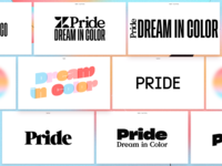 Pride wordmarks vol. leftovers