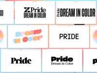 Pride wordmarks vol. leftovers