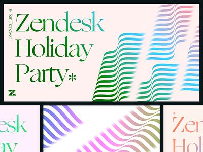 Color combo explorations pt. 3 typography zendesk branding poster