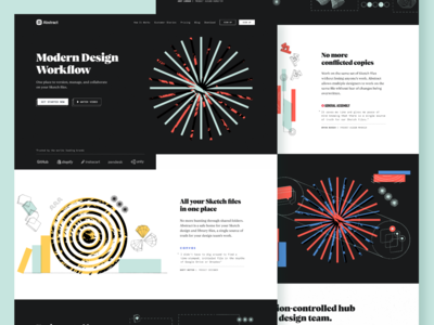 Abstract — Homepage Alt