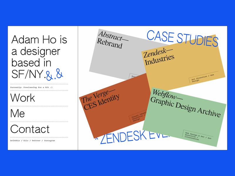 ✨New website ✨ branding web design cards portfolio
