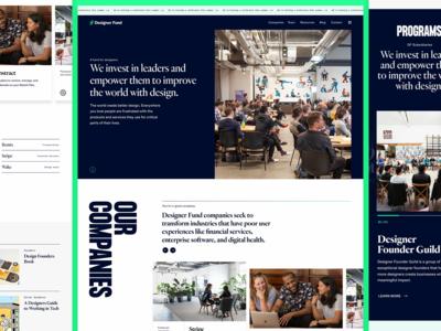 Designer Fund — Homepage