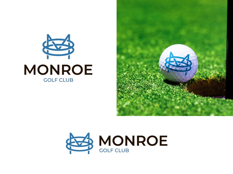Letter M+O+O Logo modern logo letter logo logoground stock logos logo for sale brand designer logo designer logo maker ball logo logo for sport golf logo gold club logo