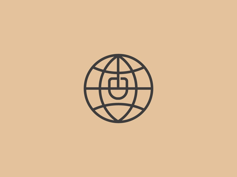 Globe Internet globe logo logoground stock logos logo for sale graphic designer brand designer logo maker logo designer mouse logo networking logo tech logo internet