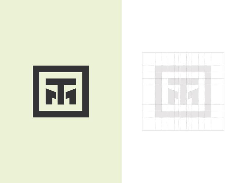 TM Monogram Logo tm typography typographic logo letter logo logoground stock logos logo for sale graphic designer brand designer logo maker logo designer