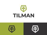 TM Monogram Logo typography typographic logo letter logo logoground stock logos logo for sale graphic designer brand designer logo maker logo designer shield logo tm monogram