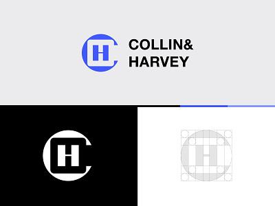 C&H Monogram Logo typographic logo letter logo logoground stock logos logo for sale graphic designer brand designer consulting consulting logo logo maker logo designer ch monogram