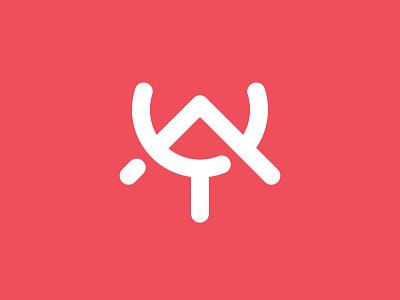 A&Y Monogram Logo modern logo typography typographic logo letter logo logoground stock logos logo for sale brand designer logo maker logo designer graphic designer ay monogram