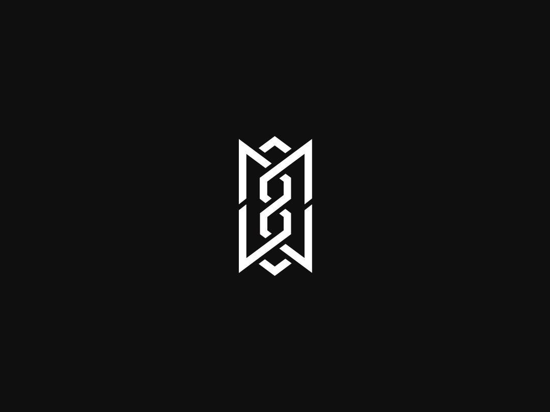 Abstract Mw Monogram By Kanades On Dribbble